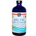 Nordic Naturals Arctic Cod Liver Oil, Strawberry, 16oz