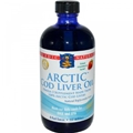 Nordic Naturals Arctic Cod Liver Oil, Strawberry, 8oz