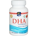 Nordic Naturals DHA, 90 Softgels, Strawberry Flavor