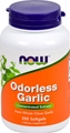 NOW Odorless Garlic, 2500mg, 250 gels