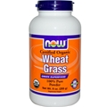 NOW Wheat Grass Powder, 9oz, Organic