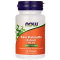 NOW Saw Palmetto Extract, 160mg, 60gels