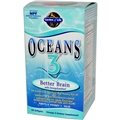 Garden of Life Oceans 3 Better Brain, 90 Softgels