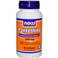 NOW Panthethine, 300mg, 60 softgels