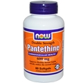 NOW Panthethine, 600mg, 60 softgels