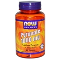 NOW Pyruvate, 1000mg, 90tabs
