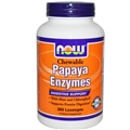 NOW Papaya Enzyme, Chewable, 360 tabs
