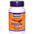 NOW Phase 2, Starch Neutralizer, 500mg, 60 Vcaps