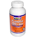 NOW Prenatal Gels + DHA , 180 Softgels