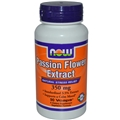 NOW Passion Flower Extract 350 mg, 90 Vcaps