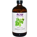 NOW Peppermint Oil, 16 oz, 100% Pure