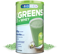 Country Life Biochem  Greens and Whey Vanilla Flavor  21.3 oz