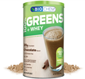 Country Life Biochem  Greens and Whey Chocolate Flavor  23.6 oz