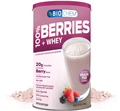 Country Life Biochem  Berries and Whey Berry Flavor  20.2 oz
