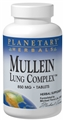 Planetary Herbals Mullein Lung Complex, 90 tabs