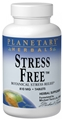 Planetary Herbals Stress Free, 810mg, 90 tabs