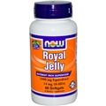 NOW Royal Jelly, 1000mg, 60 gels
