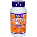 NOW Red Yeast Rice, 600mg, 60Vcaps