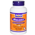 NOW Relora, 300mg, 120 Vcaps, Stress & Appetite Control