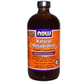 NOW Resveratrol Liquid, 16 oz