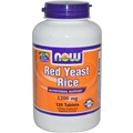 NOW Red Yeast Rice, 1200mg, 120 tabs