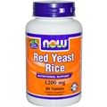 NOW Red Yeast Rice, 1200mg, 60 tabs