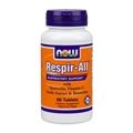 NOW Respir-all, 60tabs, Allergy Support