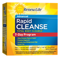 Renew Life  Total Body Rapid Cleanse, 7 Day, 3 Part Kit