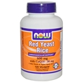 NOW Red Yeast Rice, 600mg, 120Vcaps