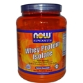 NOW Whey Protein Isolate, Chocolate, 1.8 lbs