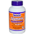 NOW Silymarin 2X, 300mg, 100Vcaps