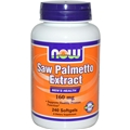 NOW Saw Palmetto Extract, 160mg, 240 gels