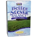 NOW Stevia Balance, with Inulin and Chromium, 100 Packets