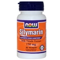 NOW Silymarin, 150mg, 60 Vcaps