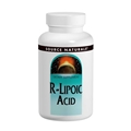 Source Naturals R-Lipoic Acid 100mg, 60 Tabs