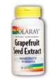 Solaray Grapefruit Seed Extract, 250 mg, 60 Caps