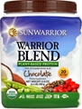 Sunwarrior Warrior Blend Plant-Based Protein Chocolate -- 1.1 lbs