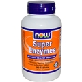 NOW Super Enzymes, 90 tabs