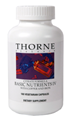 THORNE RESEARCH  Basic Nutrients IV with Copper and Iron  180 Vcaps