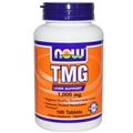NOW TMG, 1000mg, 100 tabs