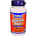 NOW Valerian Root, 500mg, 100 cap