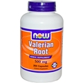 NOW Valerian Root, 500mg, 250 caps