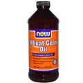 NOW Wheat Germ Oil Liquid, 16 oz