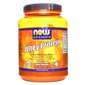 NOW Whey Protein, 2 Pound, Chocolate