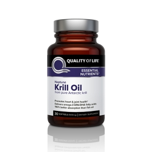 Quality of Life Labs Neptune Krill Oil, 500 mg, 30 Softgels