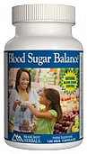 Ridge Crest Herbals Blood Sugar Balance, 120 caps