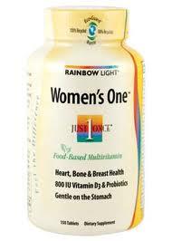 Rainbow Light Women's One Multivitamin, 150 Tabs