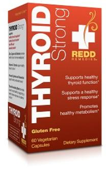 Redd Remedies Thyroid Strong, 60 Vcaps