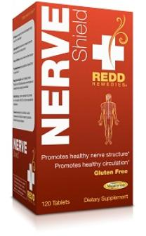 Redd Remedies Nerve Shield, 120 Tabs