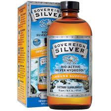 Sovereign Silver Colloidal Silver, 16oz